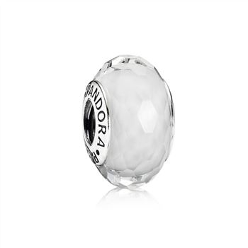 Fascinating White Charm, Murano Glass 791070