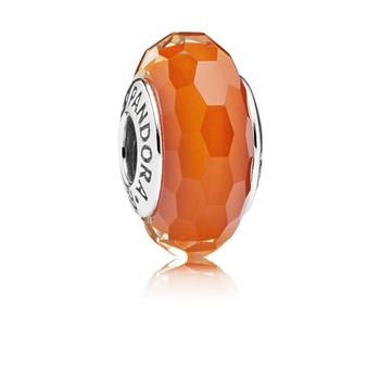 Fascinating Orange, Murano Glass 791626