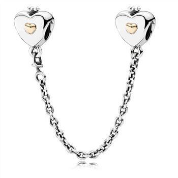 Heart & Crown Safety Chain 791878